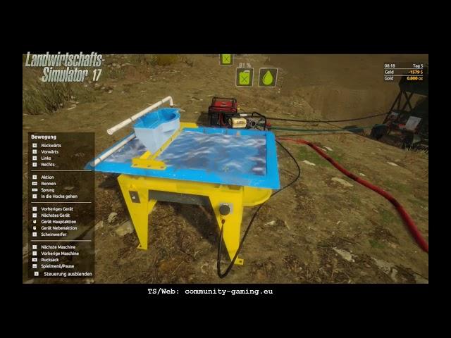 Jetzt mit Waschtisch | Folge #009 | Let's Play Gold-Rush
