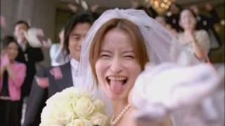 江崎グリコのCM BREO あっかんべー・ウェディング篇