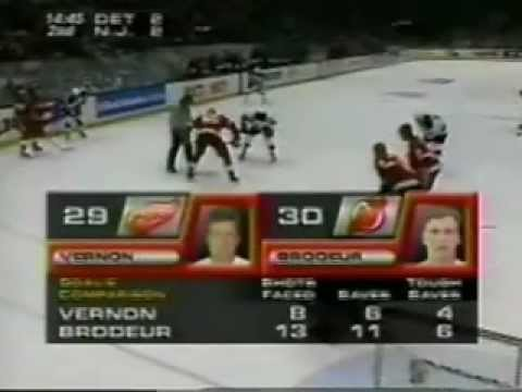 NHL 1995, Game 4 - Detriot Red Wings vs New Jersey Devils