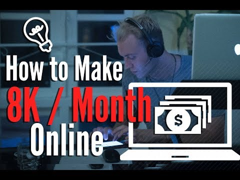 How To Make 8k per Month on Freelancing as a Virtual Assistant