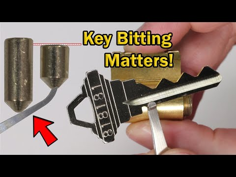 How Key Bitting Affects Lock Picking and Your Lock's Security