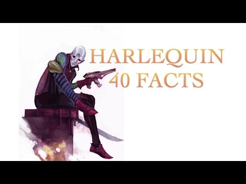 40 Facts and Lore about the Harlequin , Warhammer 40k