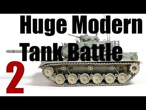 M60 Patton Tank - Biggest Modern Tank Battle (Gulf War)