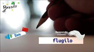 0 Ditado de palavras em Esperanto ortografia do Esperanto