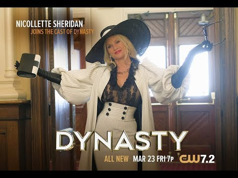 DYNASTY: Nicollette Sheridan makes her debut as Alexis Carrington!