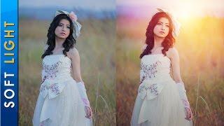 Photoshop CC Tutorial - Adding Soft Light Effects