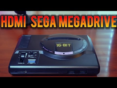 HDMI Sega Mega Drive Genesis Clone - Review, Teardown , Comparison with Original Megadrive !!