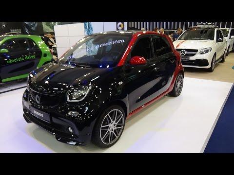 2017 Smart forfour Brabus Xclusive - Exterior and Interior - Auto Salon Bratislava 2017