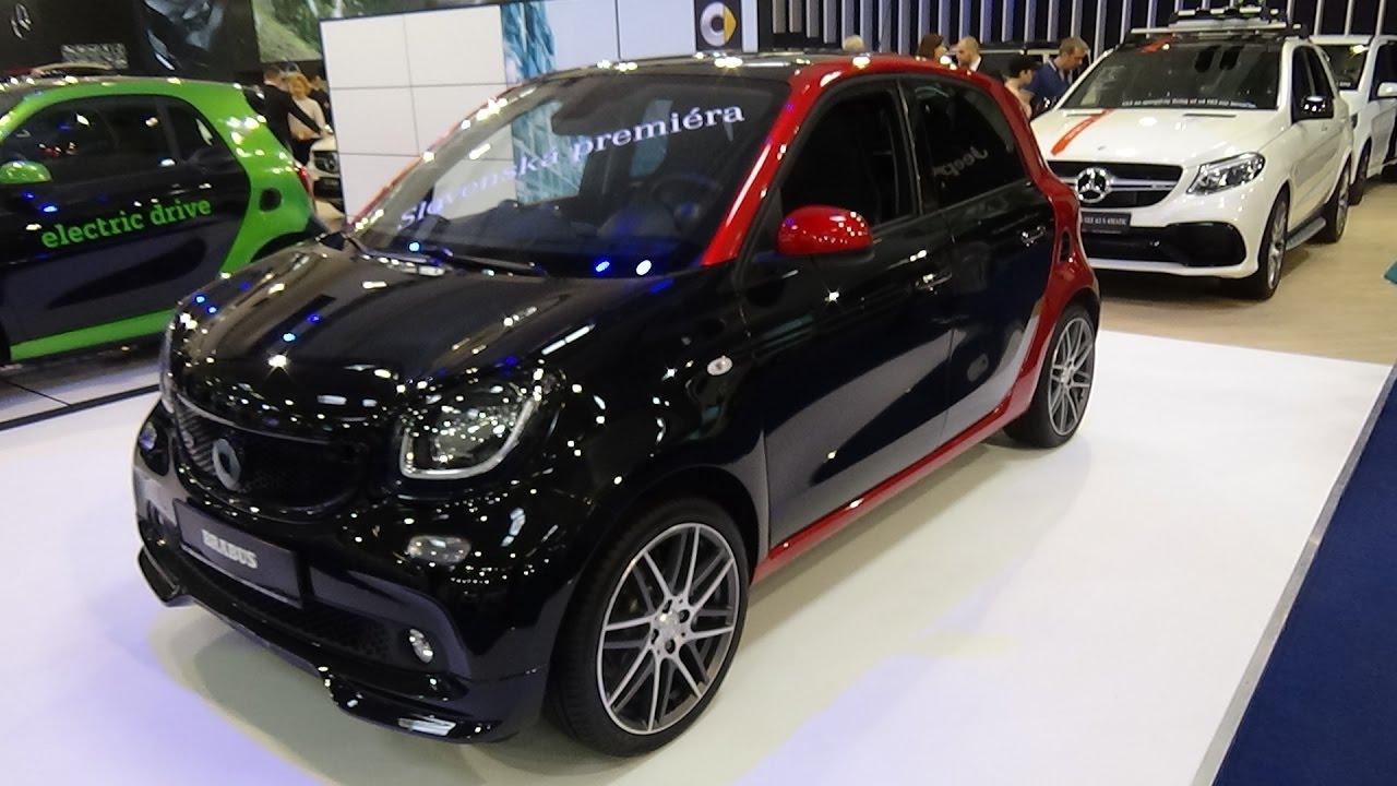 2017 smart forfour brabus xclusive exterior and interior auto salon bratislava 2017 youtube. Black Bedroom Furniture Sets. Home Design Ideas