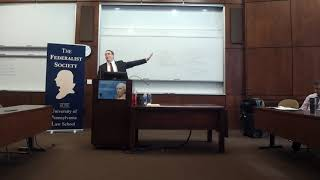 UPenn Federalist Society Chapter: The New Constitutional Challenge to Obamacare