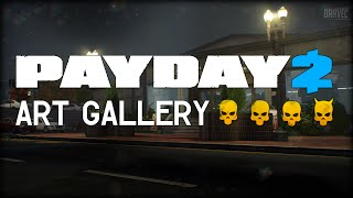Payday 2: Art Gallery - DEATH WISH (Solo/Stealth)