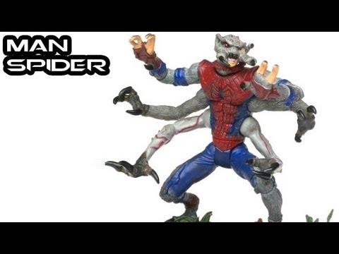 Marvel Legends MAN SPIDER Figure Review - YouTube