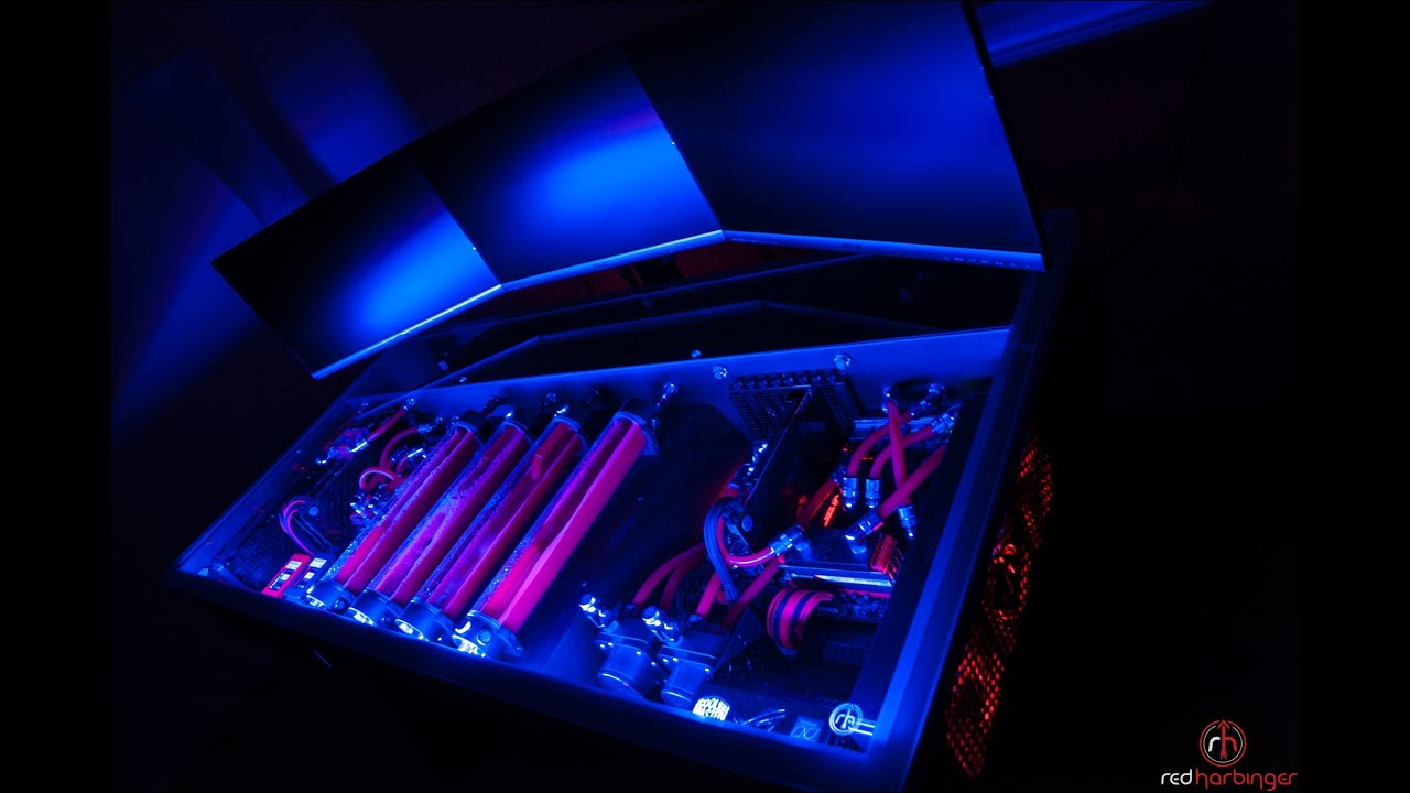Cross by Red Harbinger  Finished  Liquid cooled computer