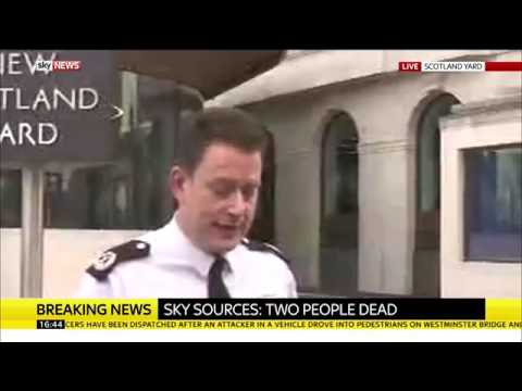 New Scotland Yard Press Conference after Attack - 22nd March 2017