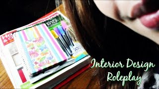 ASMR| Interior Design Roleplay ~Your First Home!!!~