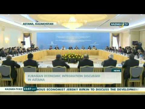 Eurasian Economic Integration discussed in Astana