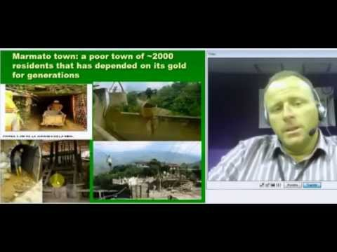 impacts of industrial mining in Colombia