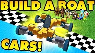 Build a boat CARS UPDATE Wheels Springs and MORE