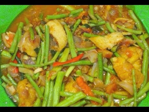 Paano magluto sitaw at isda green beans fried fish for Filipino fish recipes