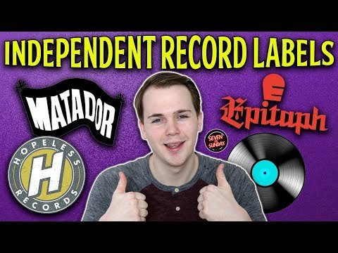 Top 7 Greatest Independent Record Labels! Mp3