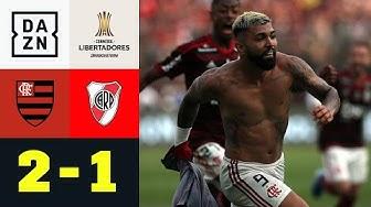 Irres Finish! Barbosa wird zum Finalhelden: Flamengo - River Plate 2:1 | Copa Libertadores | DAZN