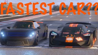 Is TEZEREACT The Fastest Car? GLITCH & Drag Race gta 5 online