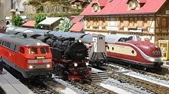 Eisenbahnausstellung in der Kaiserpfalz Forchheim 2017-18
