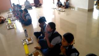 Narayana Vidhyashram Slogam before lunch