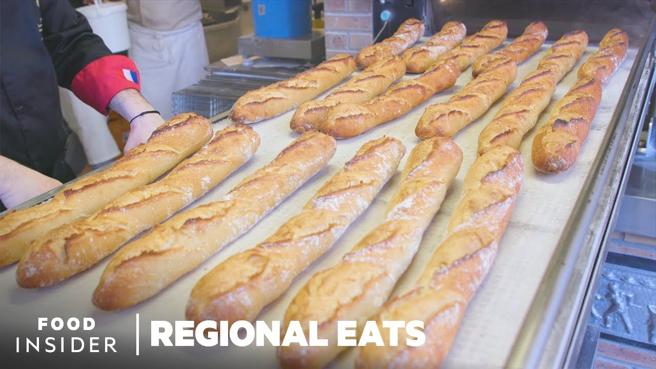 Want to know how French Baguettes are made in Paris?