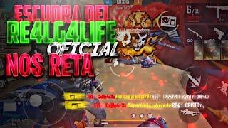 ESCUADRA DEL RE4LG4LIFE OFICIAL NOS RETA A UN 4VS4/COMPARES🇲🇽