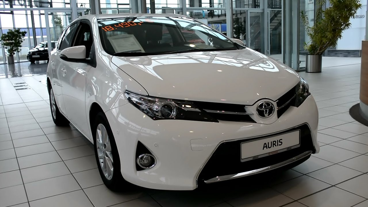 2015 new toyota auris 1 6 l valvematic edition youtube. Black Bedroom Furniture Sets. Home Design Ideas