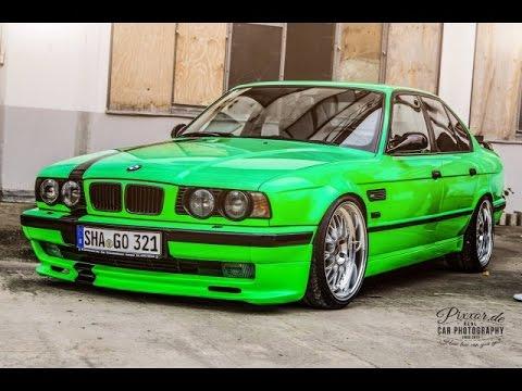 Тюнинг БМВ 5 серии Е34 / Tuning BMW 5 series E34 - YouTube