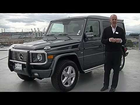 2006 Mercedes G500 Grand Edition review - We review the G Wagon engine, interior, performance ++