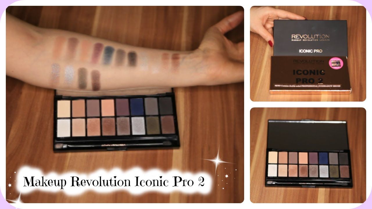 Makeup Revolution Iconic Pro 2 Review