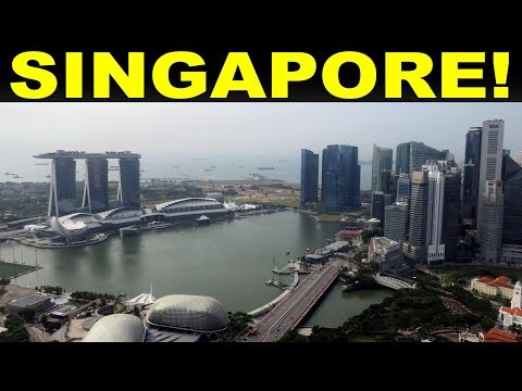 A Tourist's (very brief) guide to  Singapore