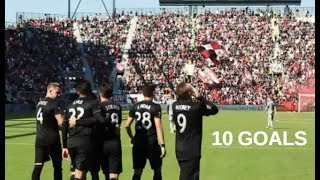 Wayne Rooney All 10 Goals D.C. United MLS 2018