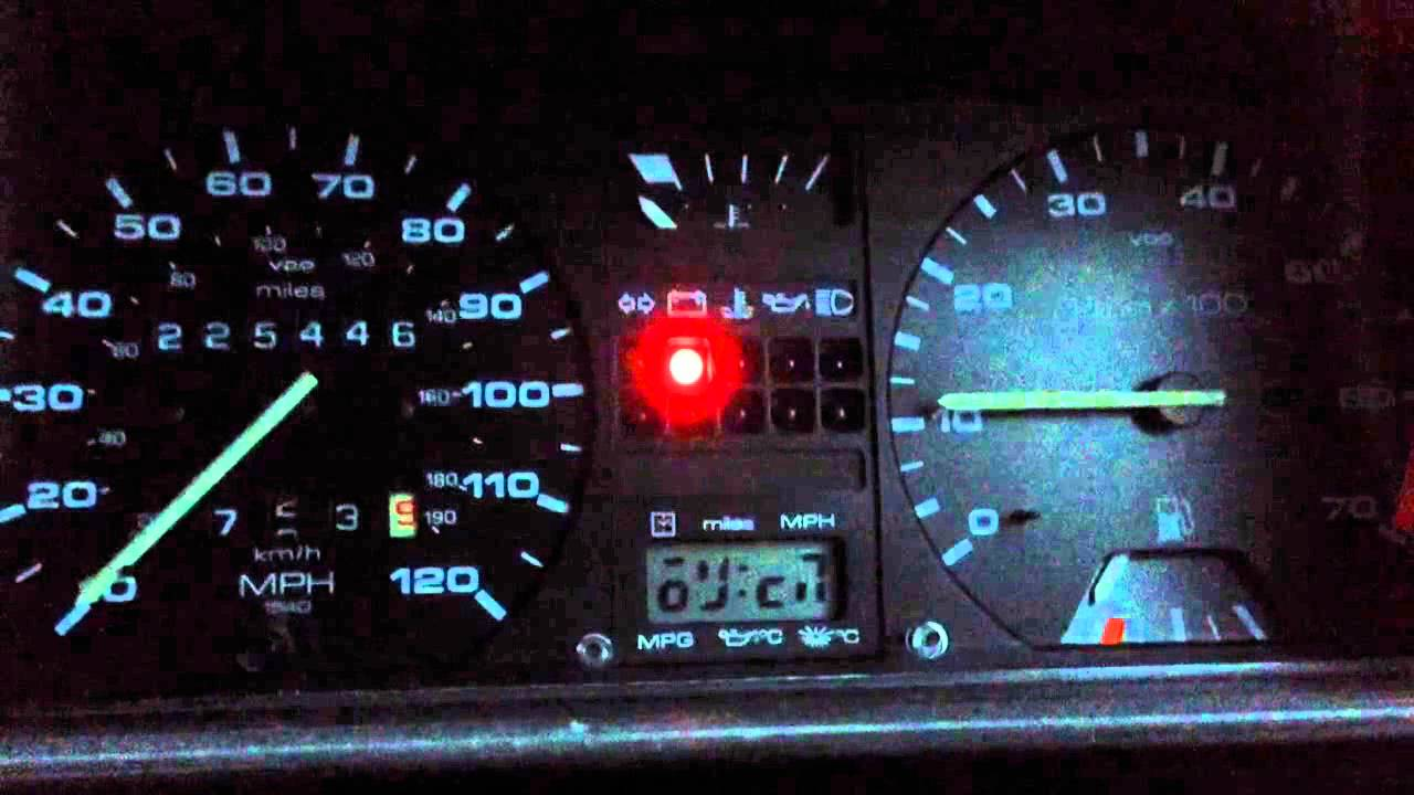 Vw Golf Mk2 Ignition Warning Lights - Alternator Problem