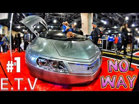 The Extra Terrestrial Vehicle Concept Car