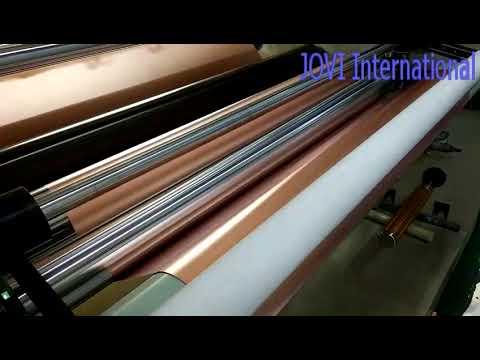 copper foil producing video