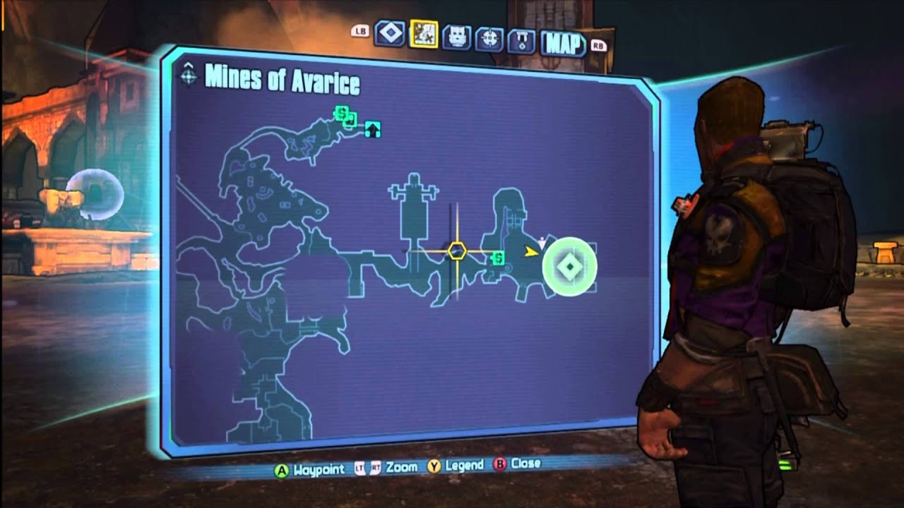 Borderlands 2 Vault Symbols And Challenges 64 Mines Of Avarice Cube
