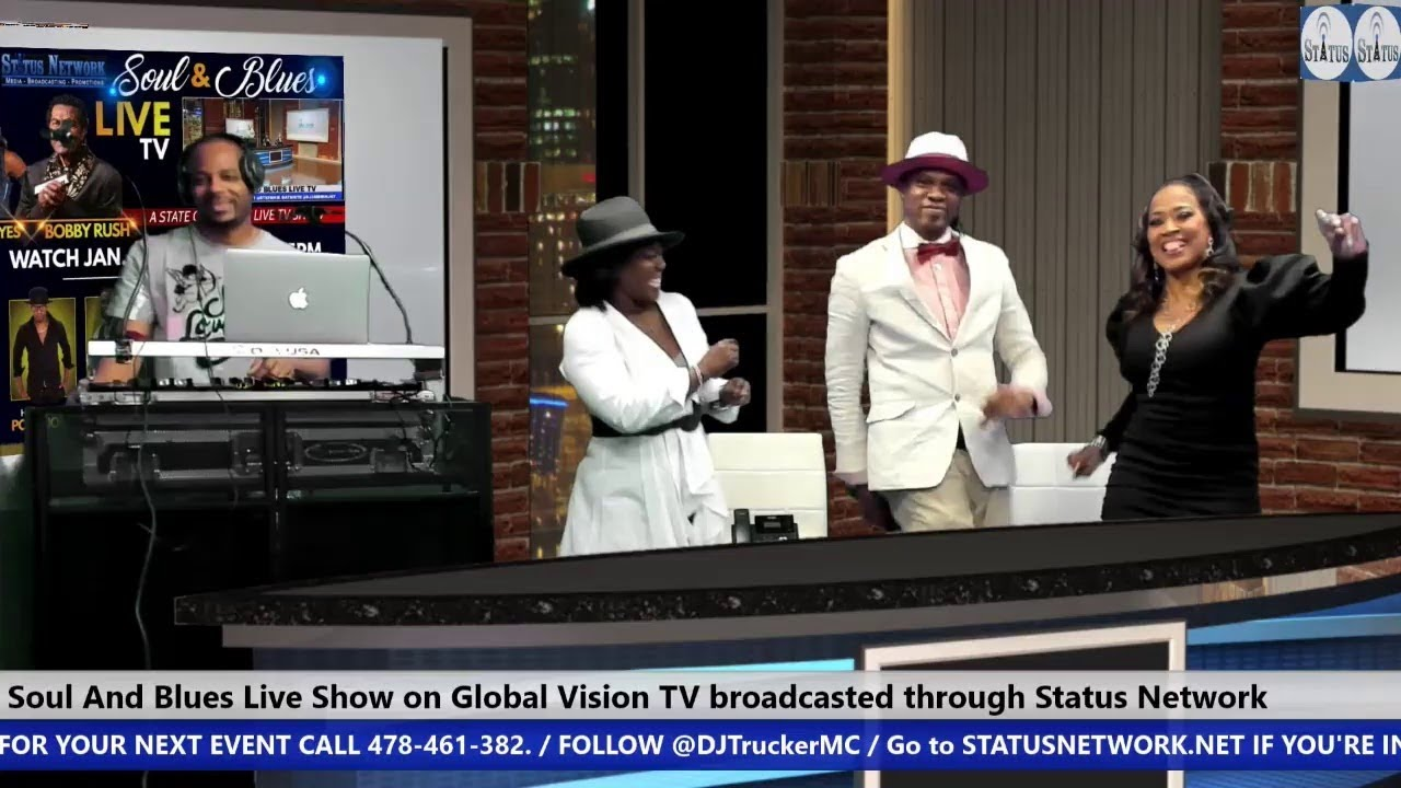 | Video | Soul & Blues Live TV hosted by Poka Jones & Stefanie Batiste