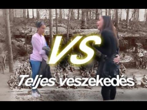 Nagy Liza vs Jázmin  Elnour Teljes Veszekedés