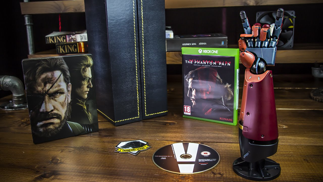 Metal gear solid v collector's edition unboxing   unboxholics.