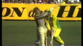 Most disgraceful moment in cricket history ever - underarm ball