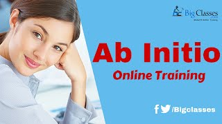 Ab-Initio-Tutorial für Anfänger - Ab-Initio-Architektur - BigClasses