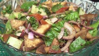 Fattoush ( فتوش  ) Recipe - A Levantine Salad