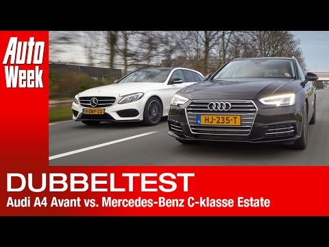 Dubbeltest - Audi A4 Avant vs Mercedes C-Klasse Estate