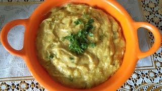 Besan Ka Jhunka | Besan Ka Pithla | Konkani Recipes
