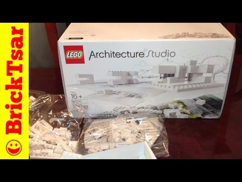 LEGO 21050 Architecture Studio New from 2013 with Book - 1210 pieces