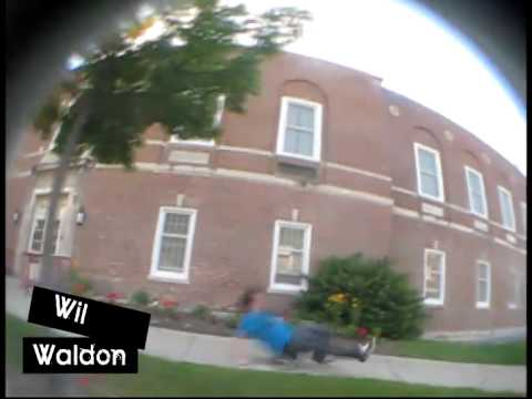 Primo on a skateboard by Wil Waldon for Invasion Skateboards